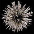 Фейерверк - салют РС8180 / РС818 Подарок от Деда Мороза (1,2