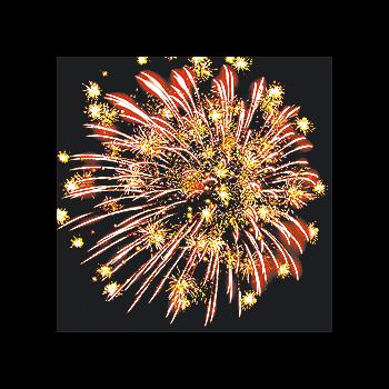 Фейерверк - салют РС8090 / РС809 Разноцветные снежинки (1,2