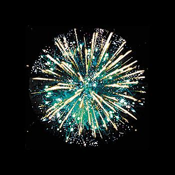 Фейерверк - салют   РС7350 / РС741 Старый Новый год (1